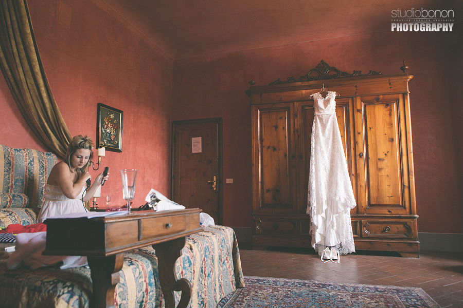 Wedding in Tuscany with Vintage settings