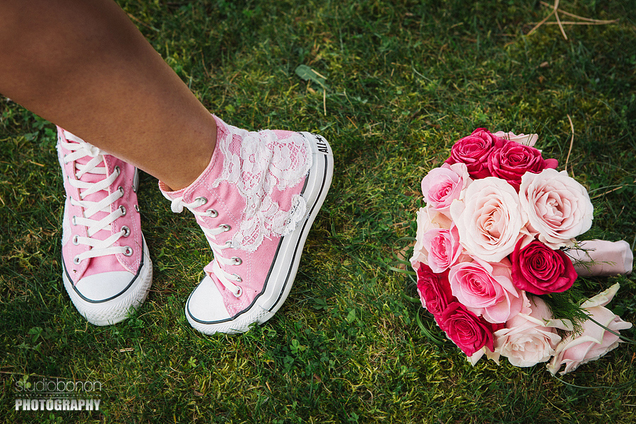 24-All Stars Shoes Wedding