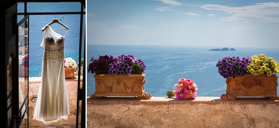 014-wedding-dress-in-positano-weddingitaly-bridal-bouquet-flowers-sea