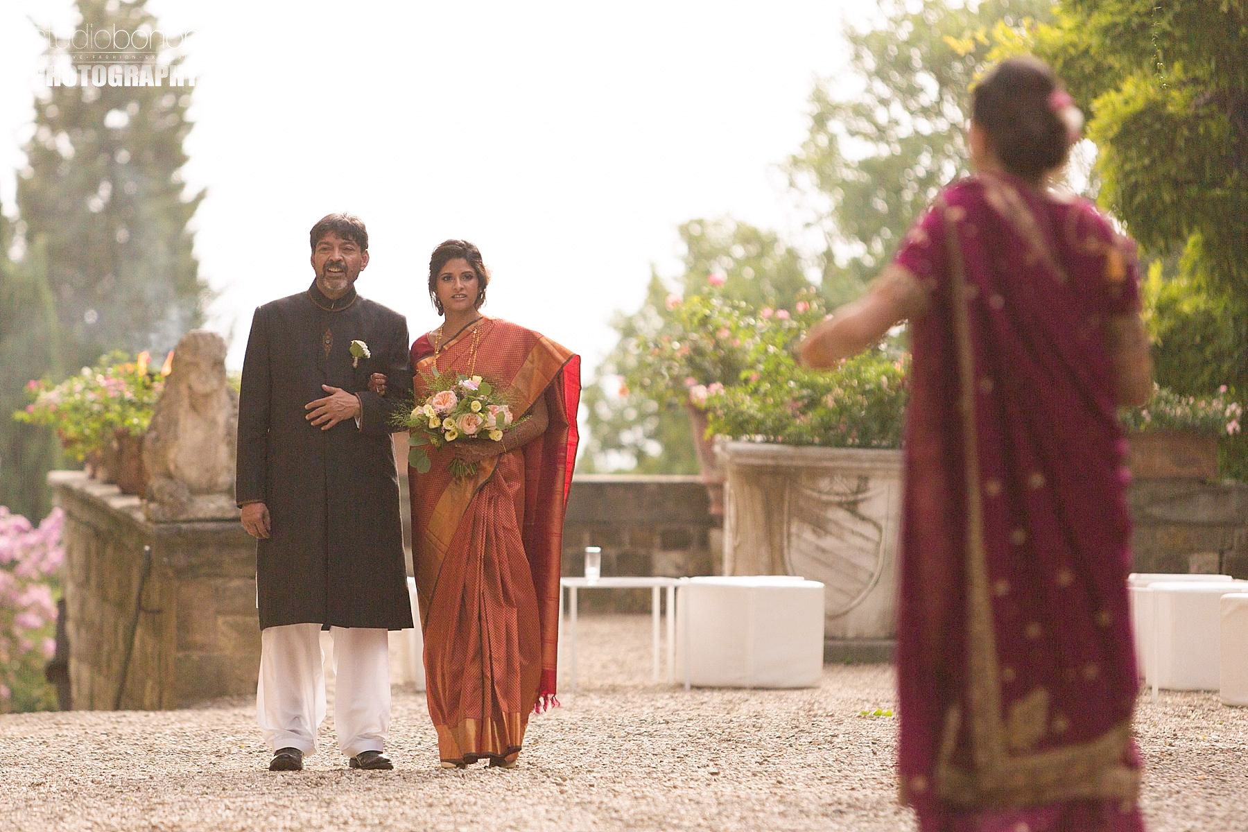 Tuscany Indian Wedding in Tuscany at Castello di Vincigliata and Villa Montefiano. Planning by WeddingsItaly BY Regency