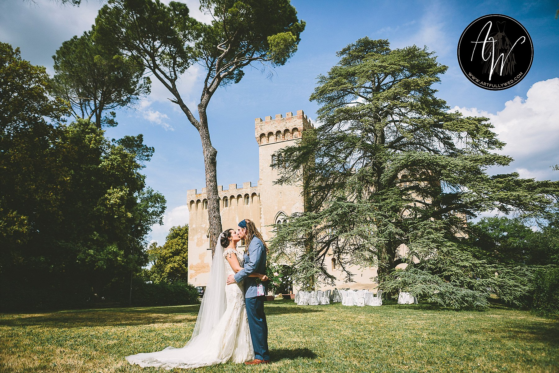 Beautiful wedding planned by Efffetti at Santa Maria Novella Castle by Studio Bonon Photography
