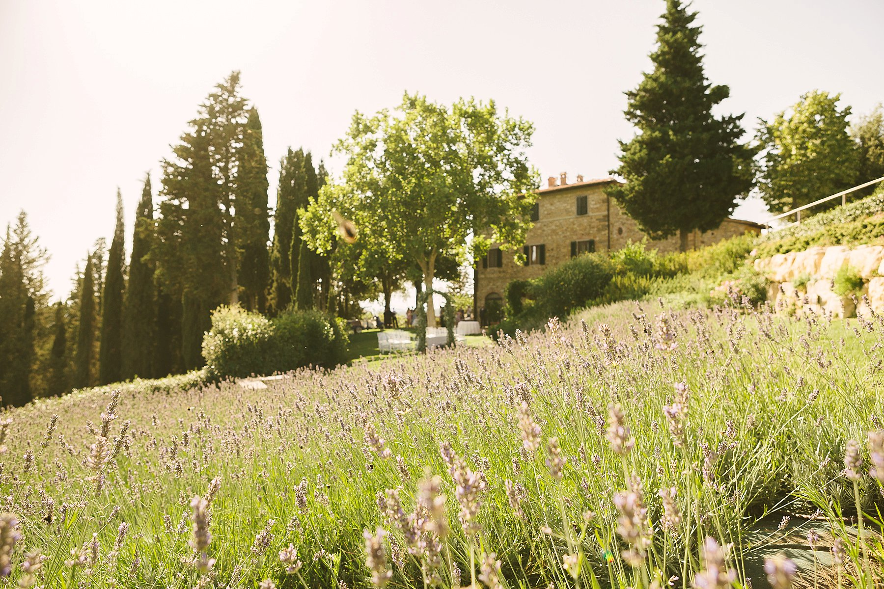 Destination wedding in Tuscany countryside near Panzano in Chianti