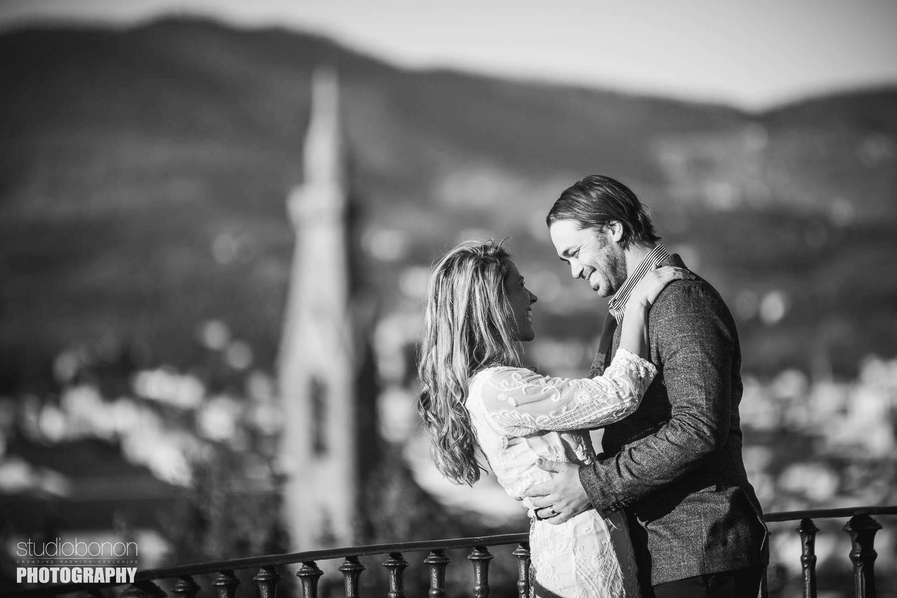 Prewedding photo shoot in Florence