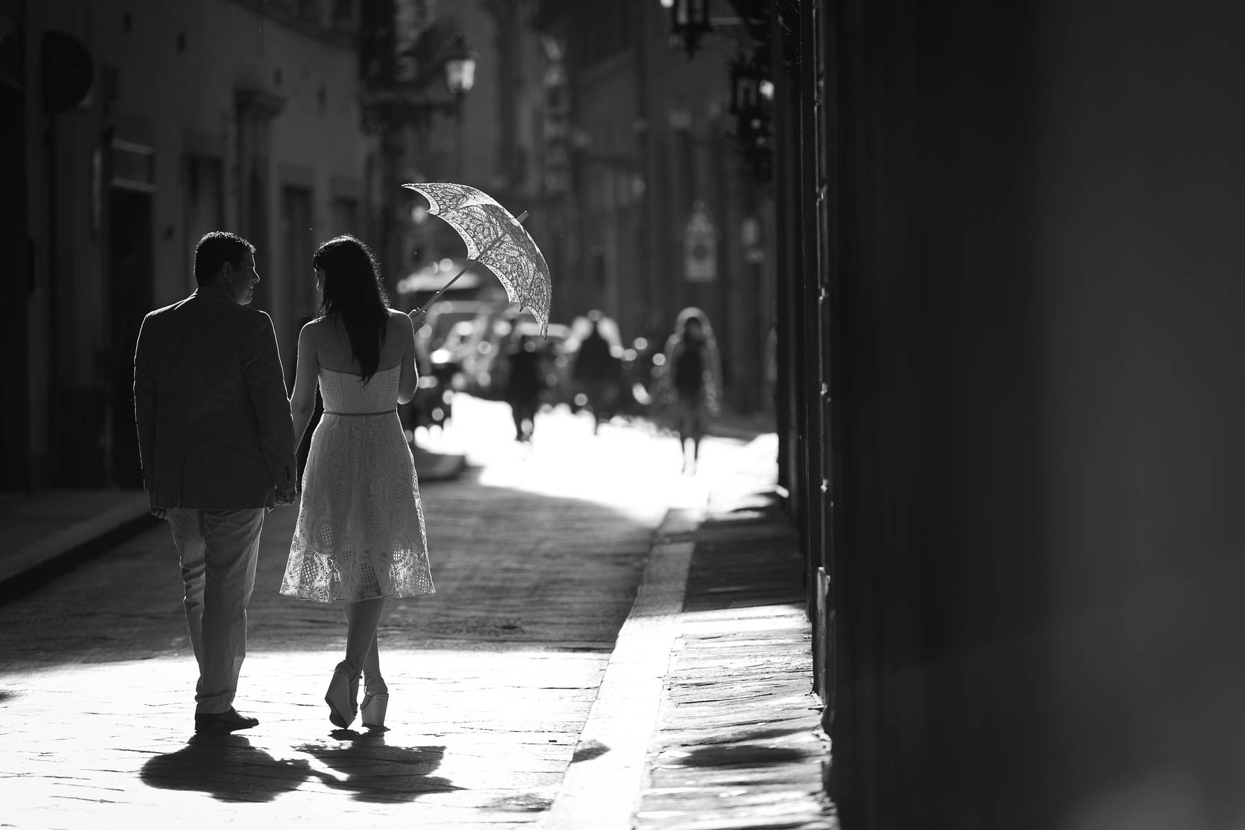 Engagement photography in Florence