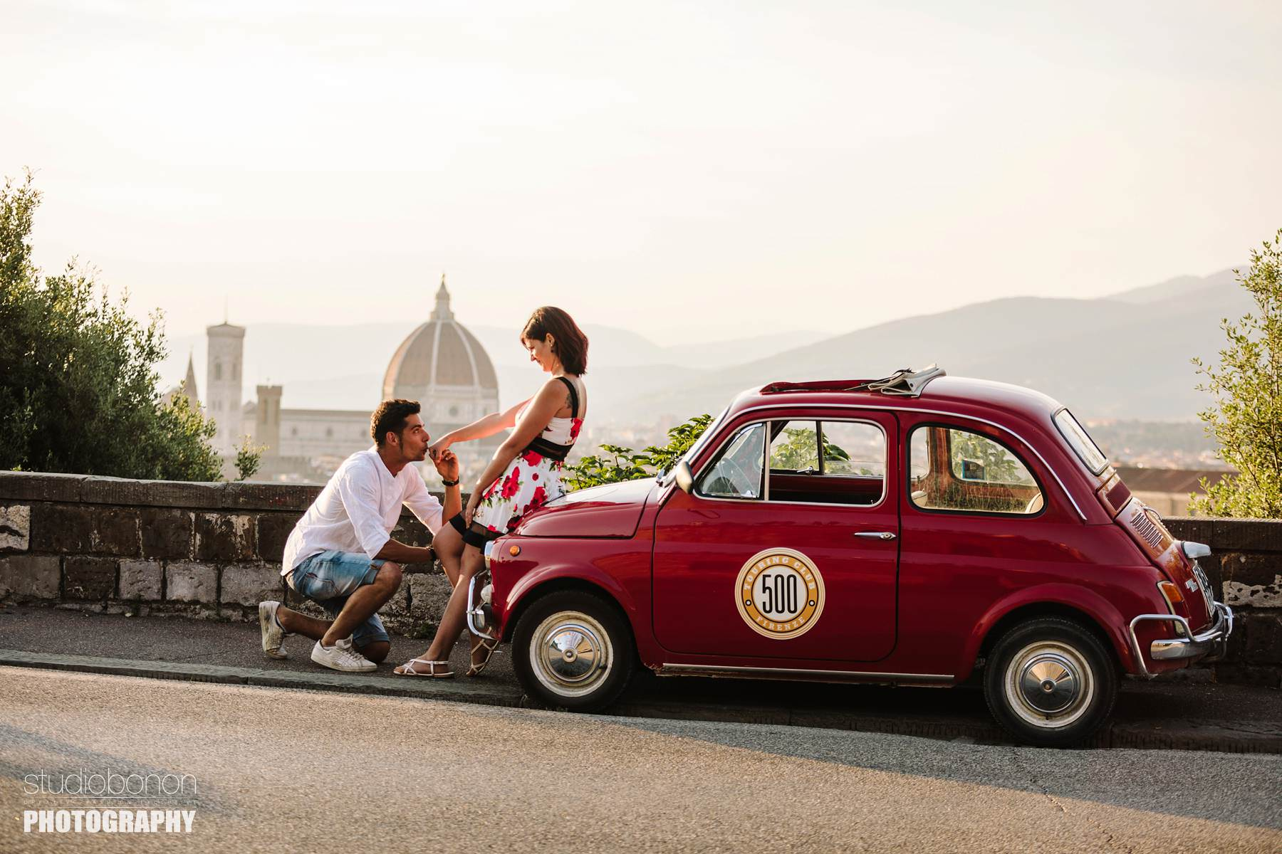 Fiat 500 tour in Florence: your authentic Italian experience!
