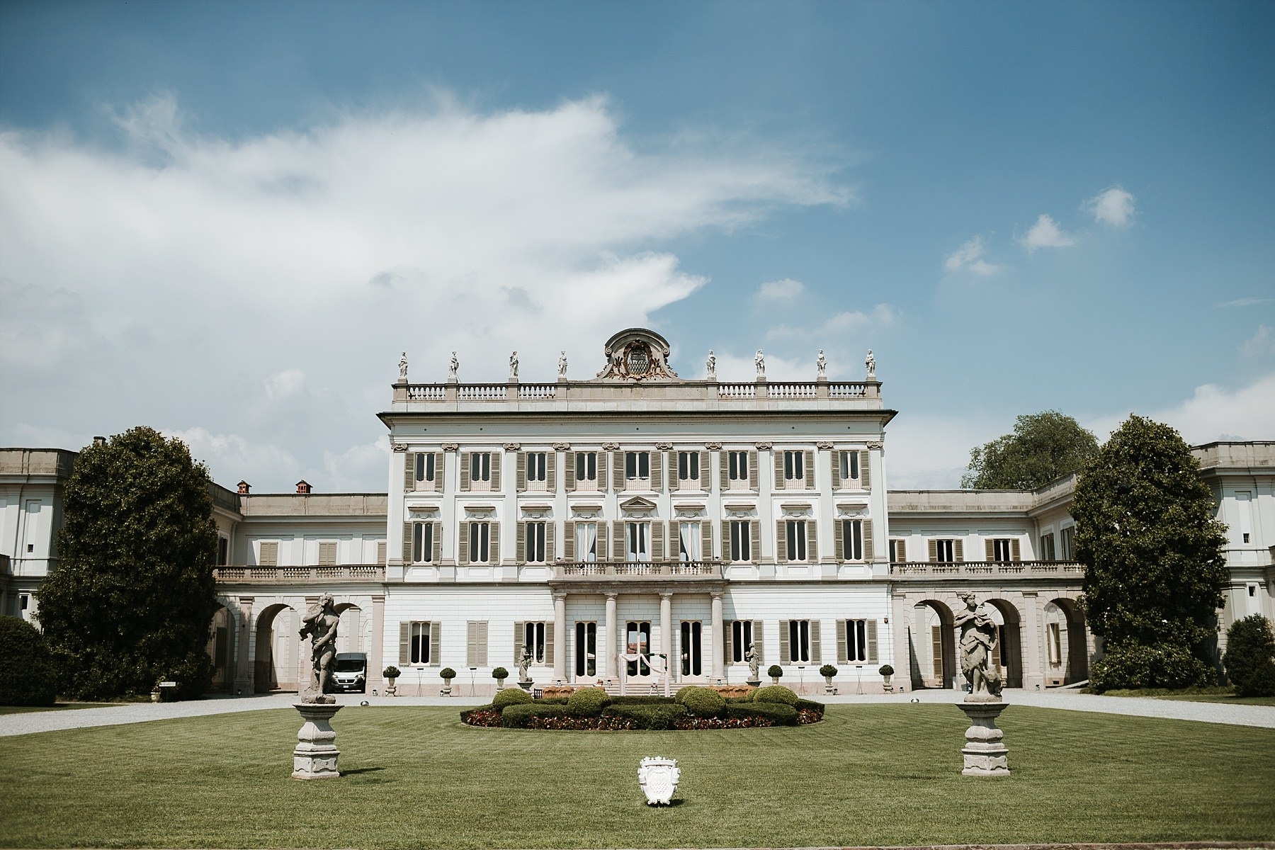 Villa Borromeo Cassano d'Adda. Stunning location for a Destination Wedding