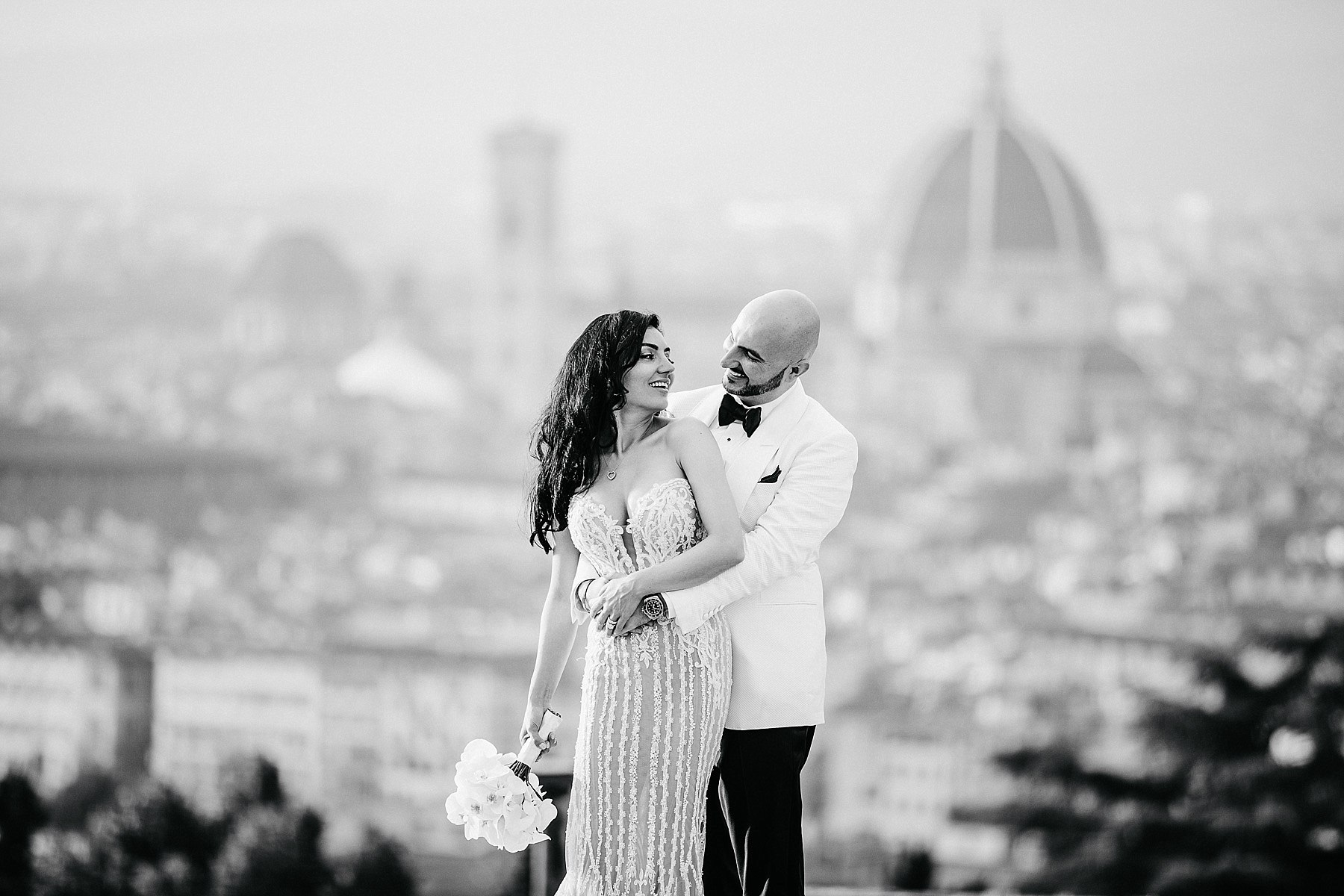 Portrait - Destination wedding in Florence
