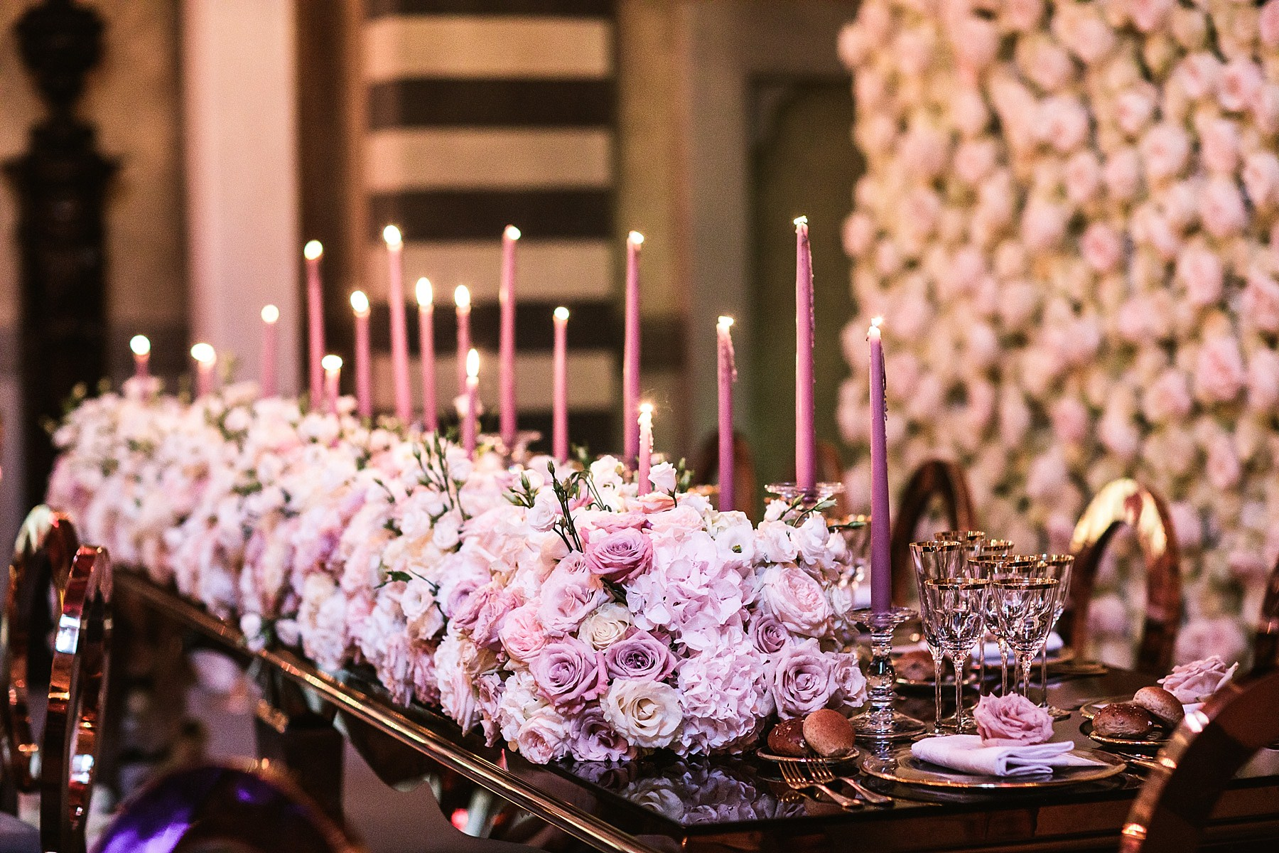 Decors - Destination wedding at Four Seasons Hotel Florence